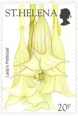 Angel's Trumpet Stamp